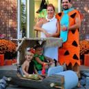 Coolest Flintstones Family and Car Costume