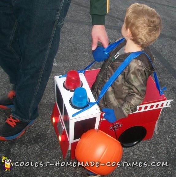toddler firetruck costume