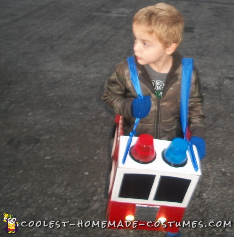 toddler firetruck costume