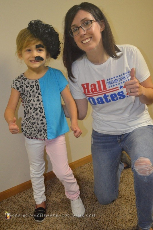 Adorable Hall & Oates Costume