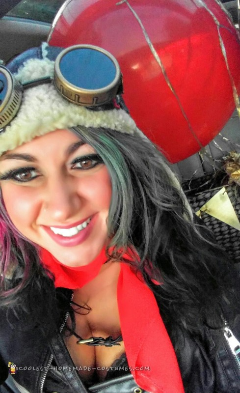 diy hot air balloon costume