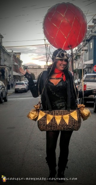 diy hot air balloon costume