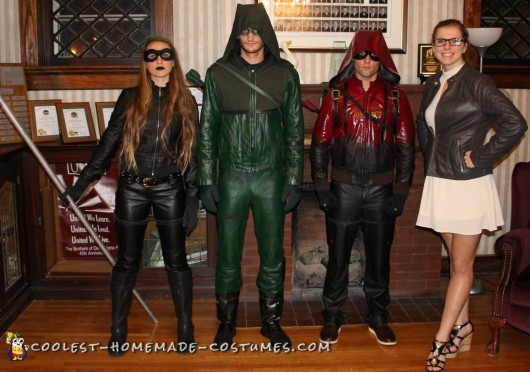 Group Arrow Costumes