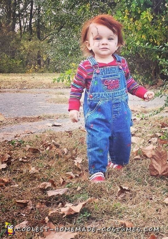 DIY Toddler Chucky Costume: He will kill you With Cuteness