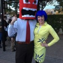 Amazing Homemade Inside Out Costumes