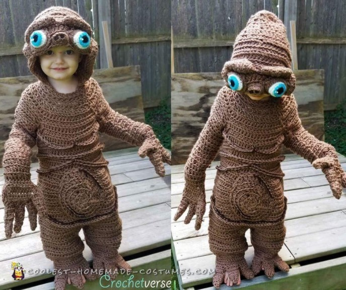 Coolest Homemade ET Costume