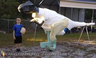 t-rex halloween costume