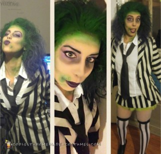 Awesome Lady Beetlejuice Diy Costume For Halloween