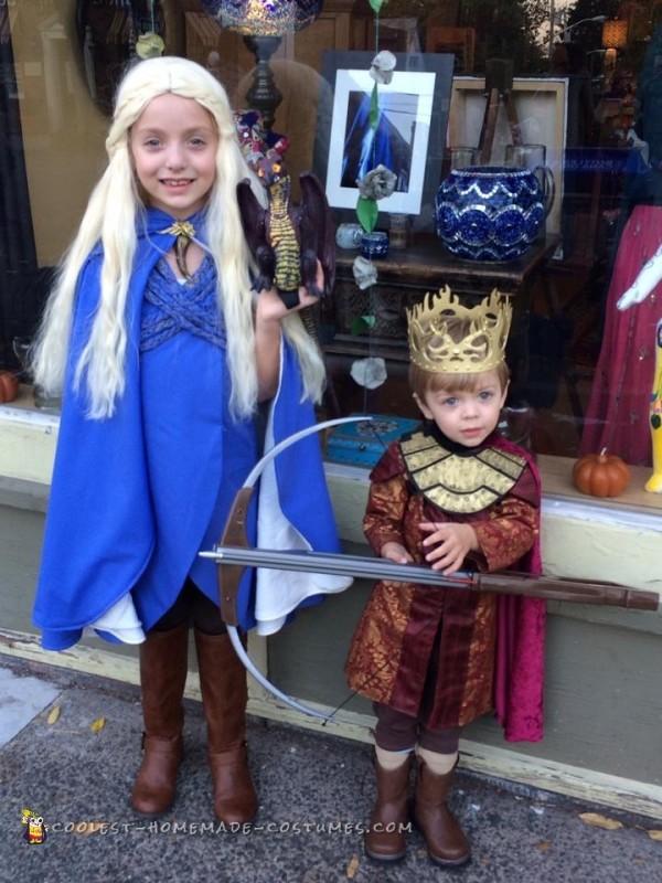 Mini Daenerys Targareon and Joffrey Baratheon