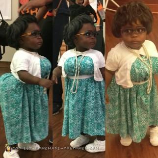 Adorable Diy Madea Costume For A Toddler