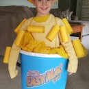 mac and cheese costume