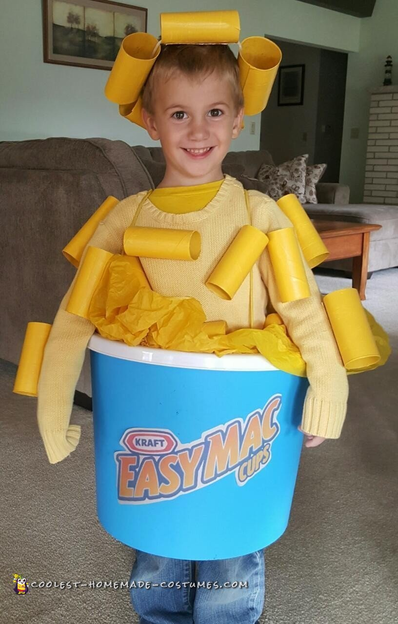 Yummiest Homemade Mac And Cheese Costume For Halloween