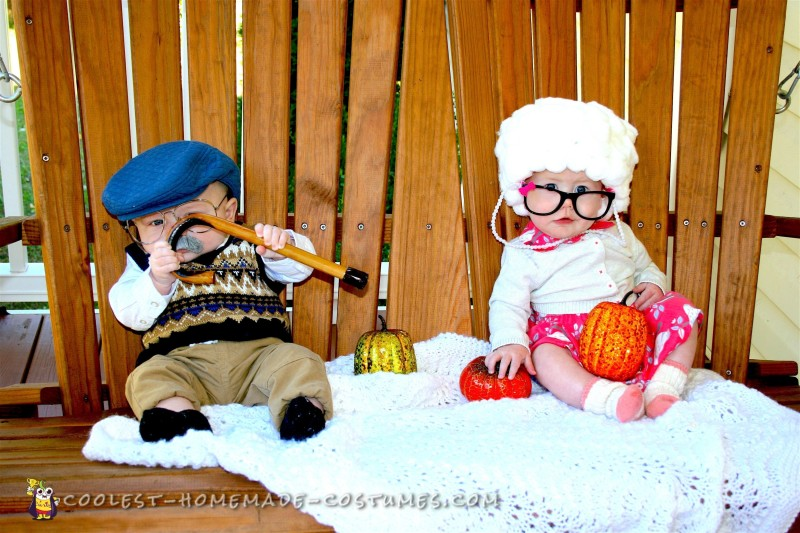 Adorable Grandparents Baby Costumes - 1