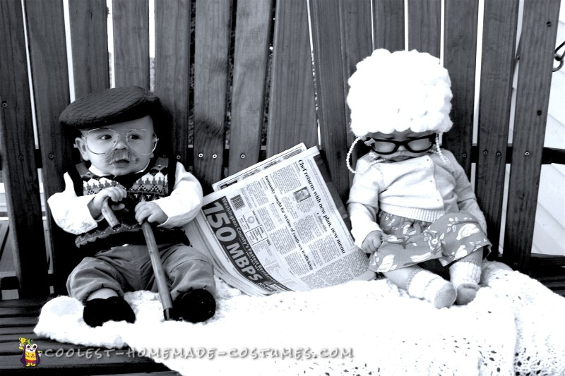 Adorable Grandparents Baby Costumes - 2
