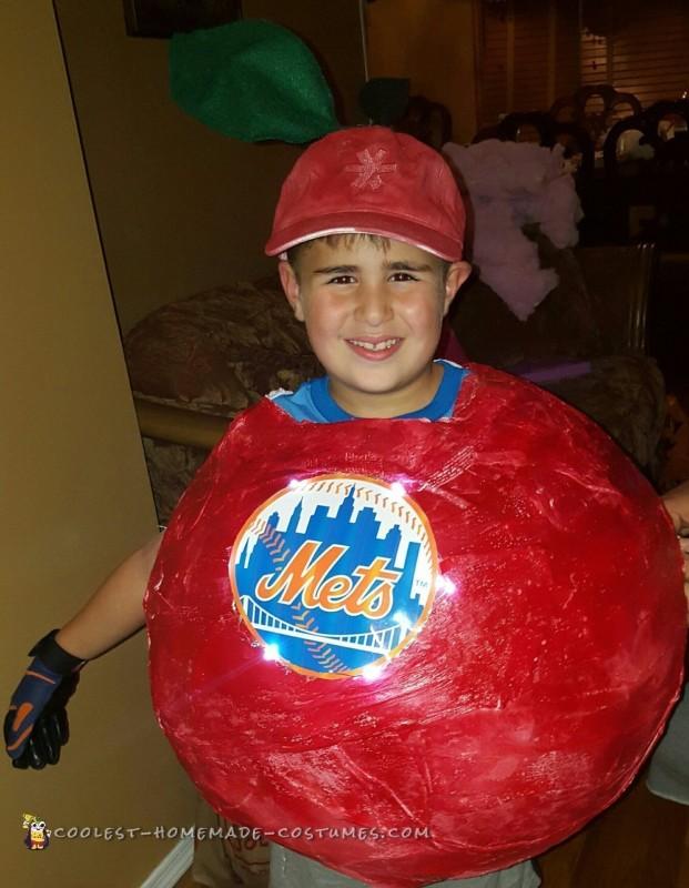 Cool NY METS Homerun Apple Costume
