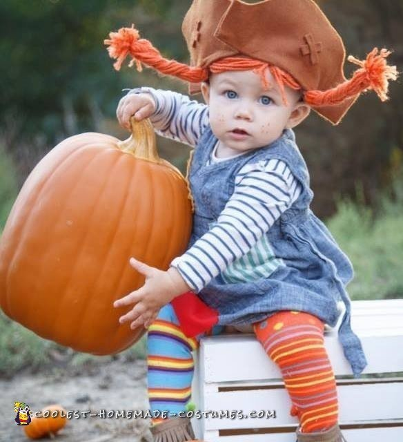 toddler pippi longstocking costume