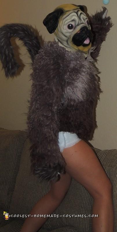 puppy monkey baby costume