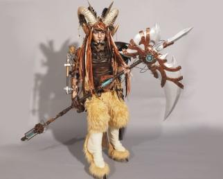 Amazing Steampunk Satyr Costume