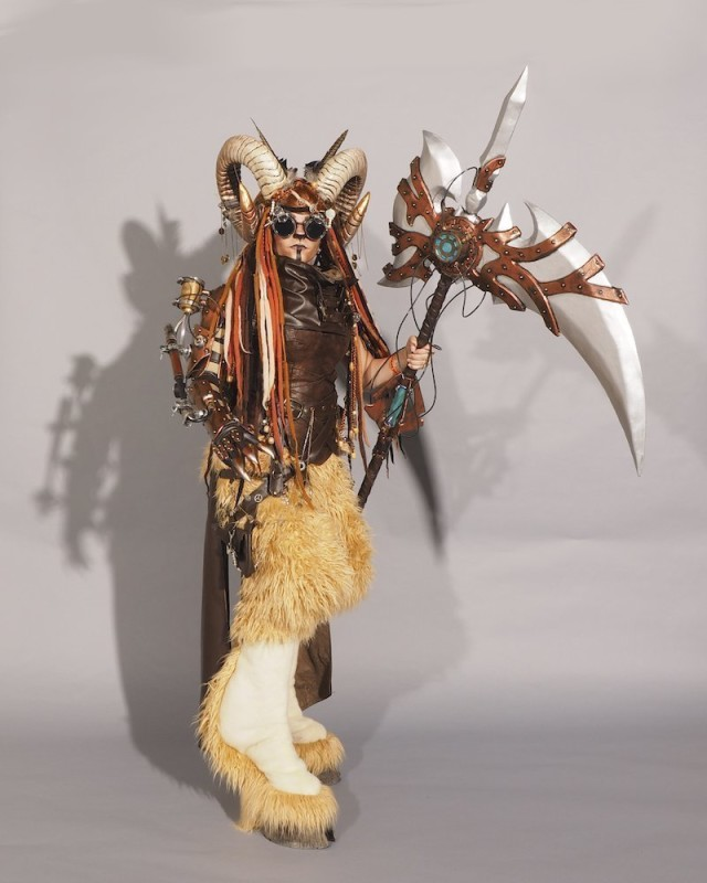 Amazing Steampunk Satyr Costume