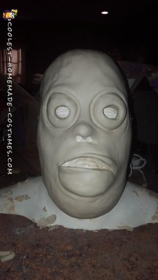 mask sculpt before molding