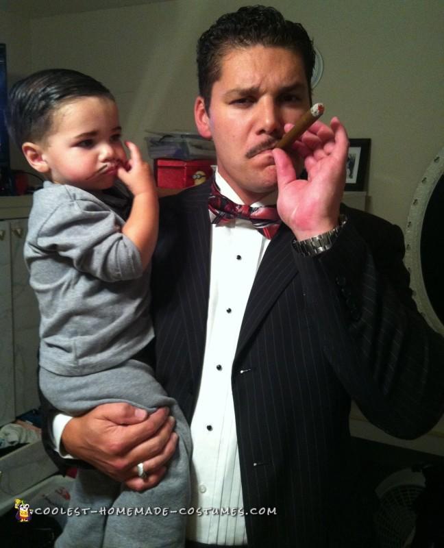 diy addams family costume