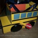 toddler school bus costume