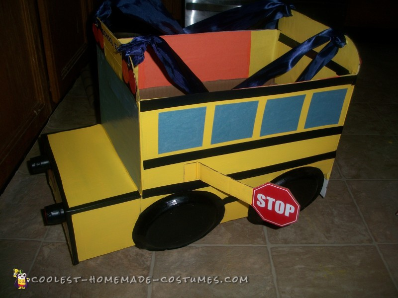 toddler school bus costume