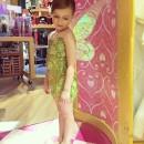 Adorable DIY Tinkerbell Costume