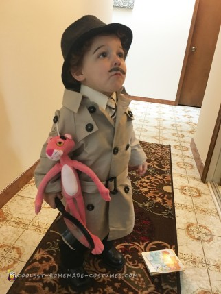 Cool Inspector Jacques Clouseau Costume from The Pink Panther
