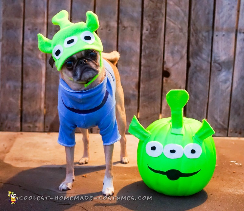 Adorable Toy Story Green Alien Costumes - 2