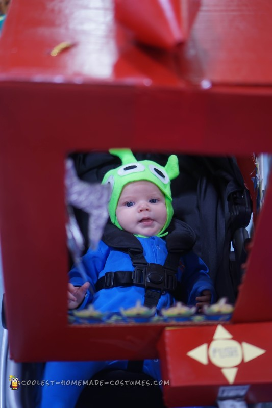 Adorable Toy Story Green Alien Costumes