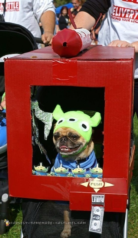 Adorable Toy Story Green Alien Costumes - 7