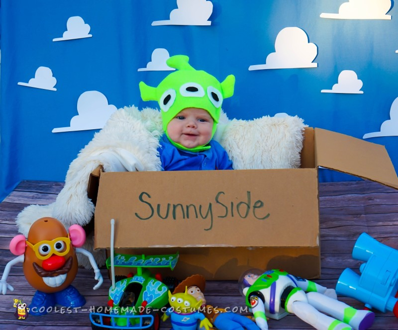 Adorable Toy Story Green Alien Costumes - 8
