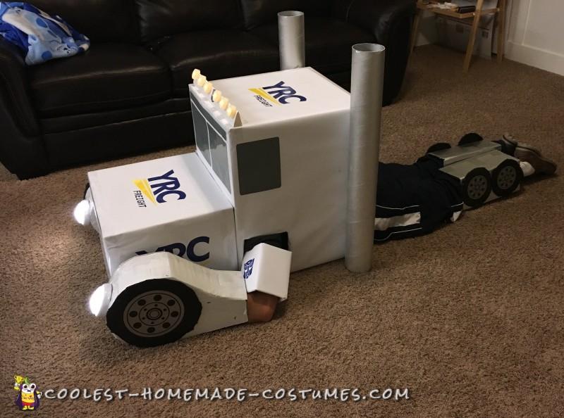 diy transformer costume