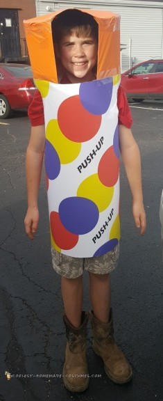 Unique Ice Cream Push-Up Costume!
