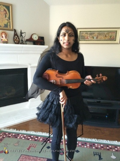 Cool Violin Spider Fairy Costume