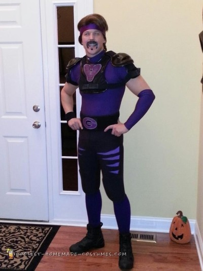 Cool White Goodman Dodgeball Costume