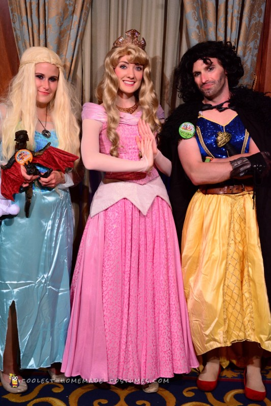Cool Disney and Game of Thrones Mash up Costumes - 1