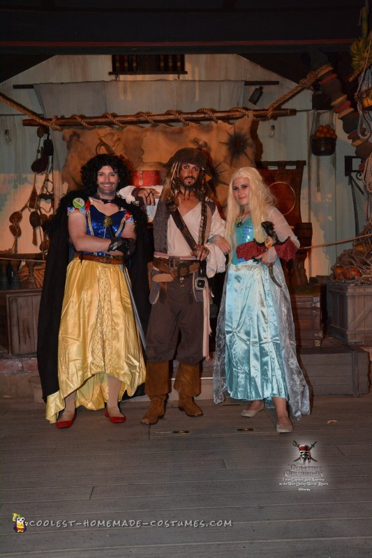 Cool Disney and Game of Thrones Mash up Costumes - 2