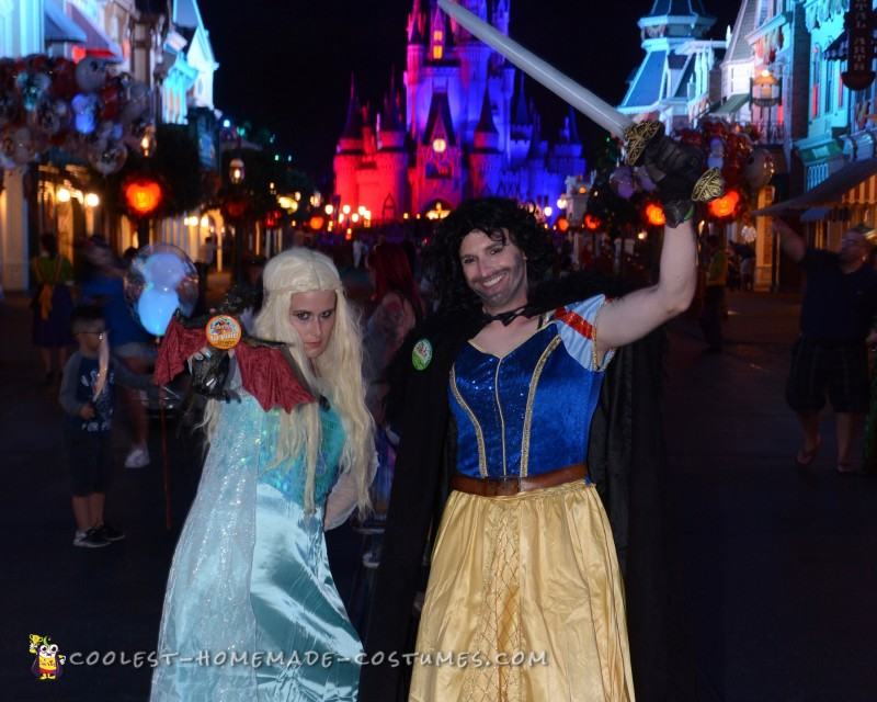 Cool Disney and Game of Thrones Mash up Costumes - 3