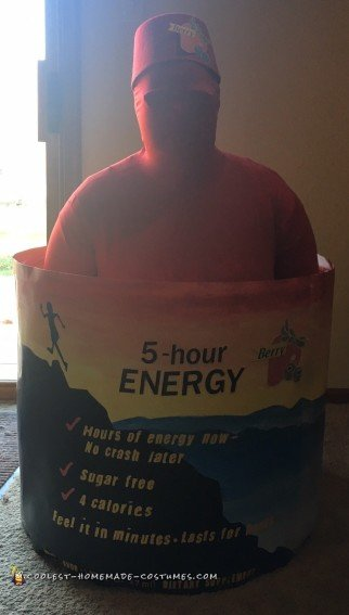 Coolest Five Hour Energy Drink Costume
