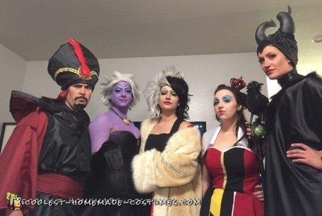 Cool Disney Villains Group Costume