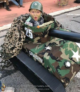 Awesome Army Tank Costume
