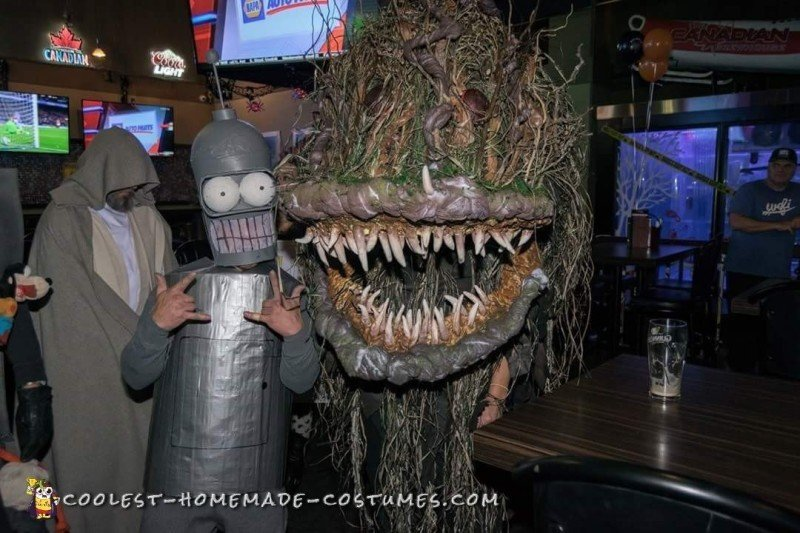 Cool Swamp Monster Halloween Costume