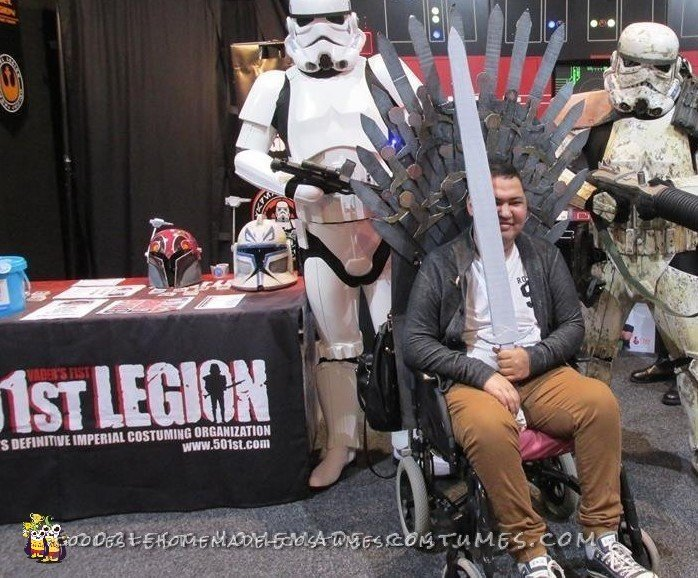 diy wheelchair costume