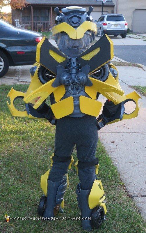 Coolest Bumblebee Transformer Costume
