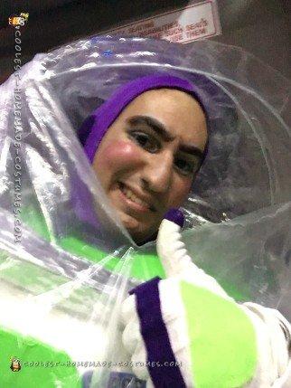 Coolest DIY Buzz Lightyear Costume