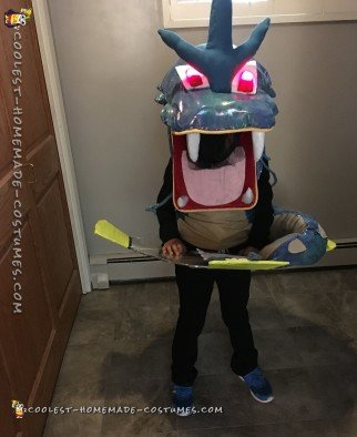 Gyarados Pokemon Costume