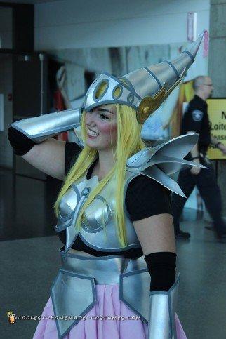 Coolest DIY Dragon Knight Yu-Gi-Oh Costume
