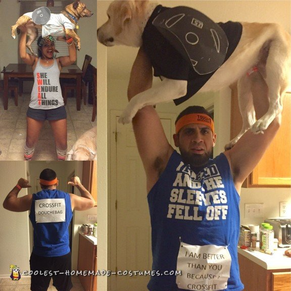 Funny Crossfit Douche Bag Costume